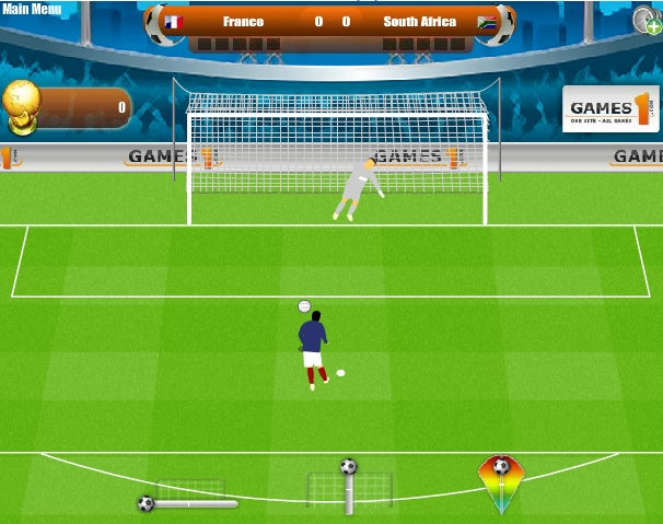 Игра World Cup Penalty 2010 онлайн