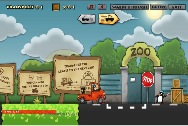 Игра Zoo Transport онлайн