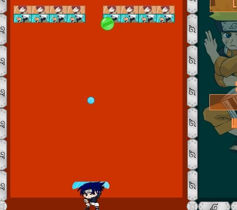 Игра Арканоид Наруто онлайн