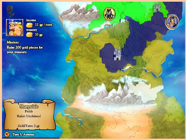 Игра Битва мечей и Сандалий онлайн