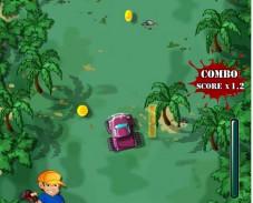 Игра Гонки в джунглях онлайн
