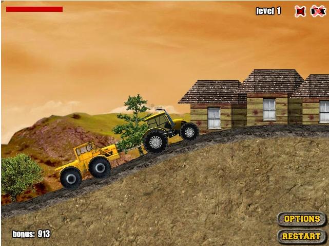Игра Гонки тракторов онлайн