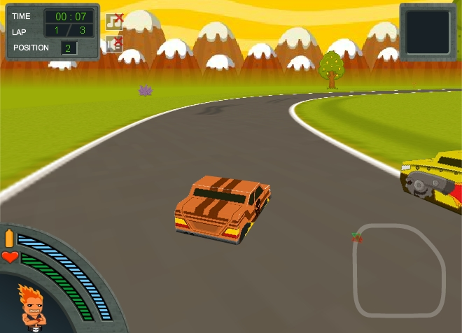 Игра Зомби гонка онлайн