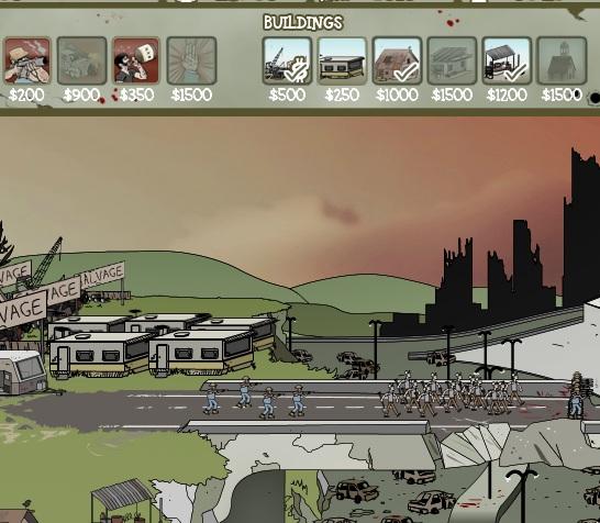 Игра Зомби против людей онлайн