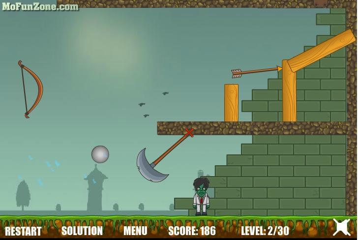 Игра Истребитель зомби онлайн