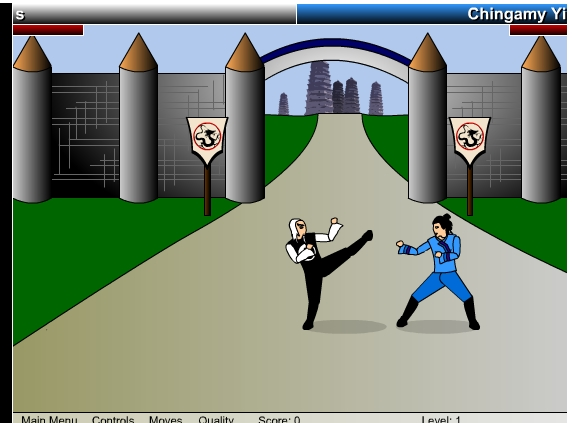 Игра Кулак дракона онлайн