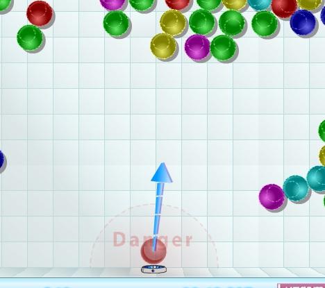 Игра Липкие шарики онлайн