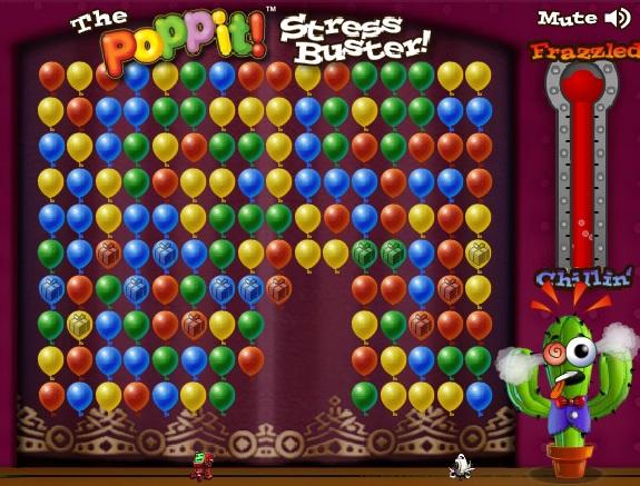 Игра Лопать шарики онлайн