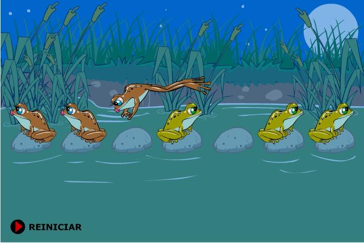 Игра Лягушки на болоте онлайн