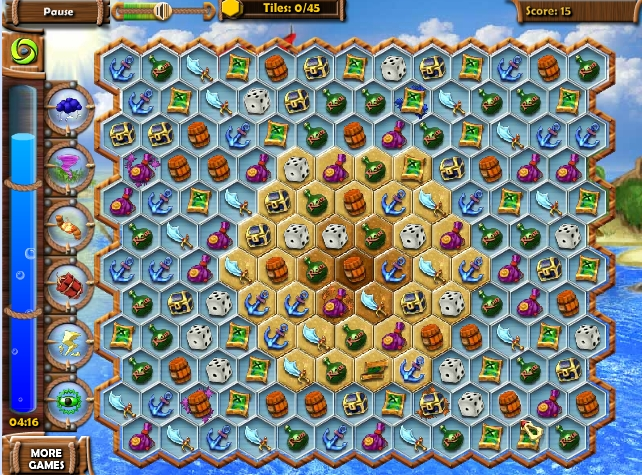 Игра Мистические сокровища моря онлайн