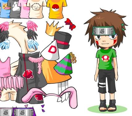 Игра Одевалка Киба онлайн