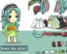 Игра Одевалка Чиби онлайн