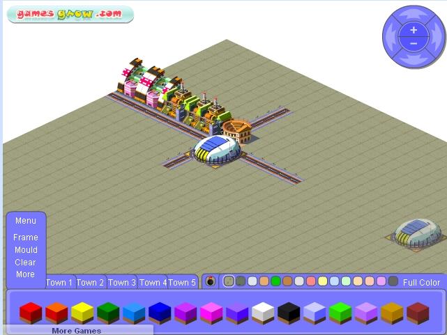 Игра Построить город онлайн