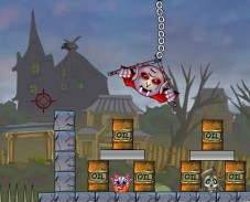 Игра Пушка Зомби онлайн