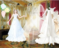 Игра Свадебное платье онлайн
