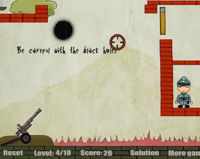 Игра Стрелок гаубицы онлайн