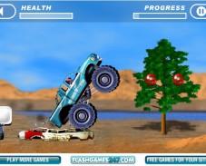 Игра Сумасшедшие гонки онлайн