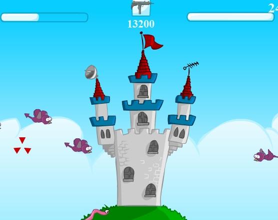 Игра Сумасшедший замок онлайн