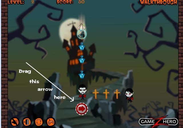 Игра Убейте вампира онлайн