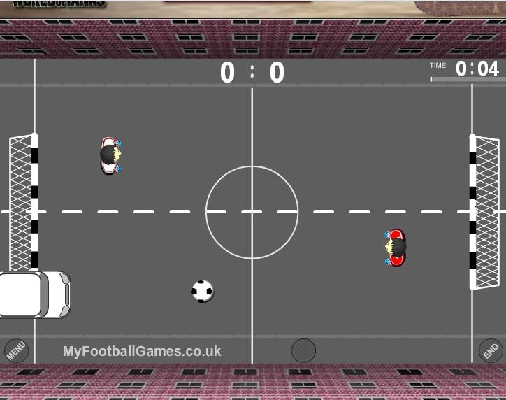 Игра Уличный Футбол онлайн
