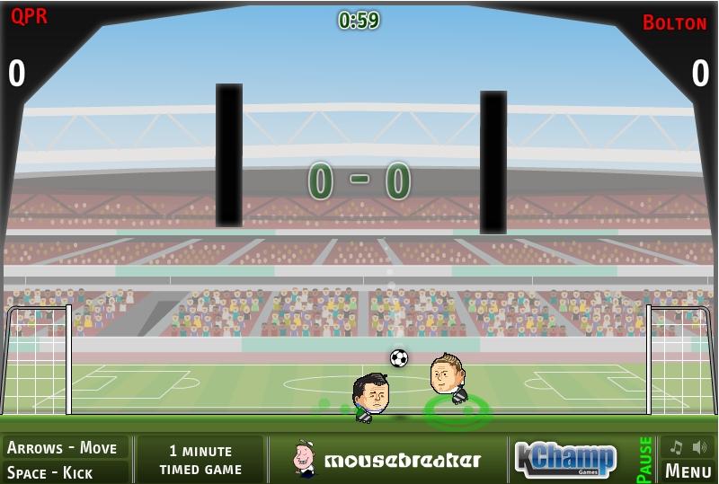 Игра Футбольные головы Чемпионат онлайн