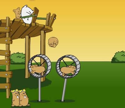 Игра Хомяк-авиатор Hamsters онлайн
