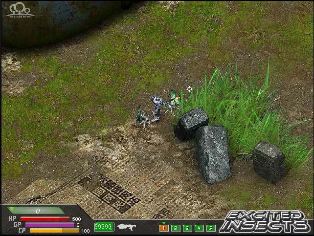 Игра Атака Насекомых онлайн