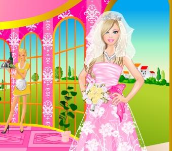 Игра Барби невеста онлайн