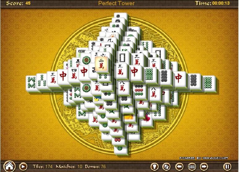 Игра Башня Маджонг онлайн