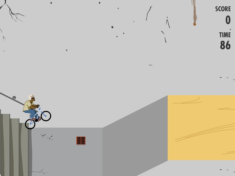 Игра Вело Трюки онлайн