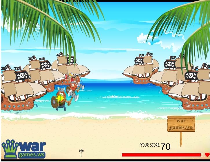 Игра Викинг войны онлайн