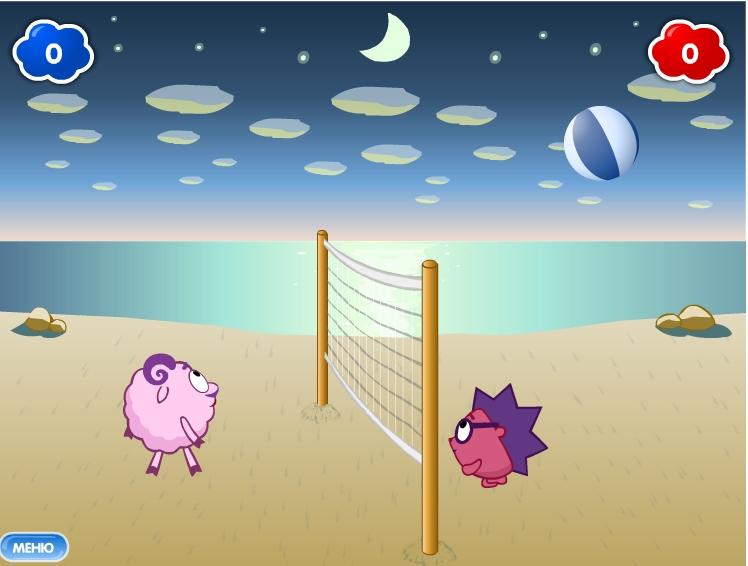 Игра Волейбол на двоих онлайн