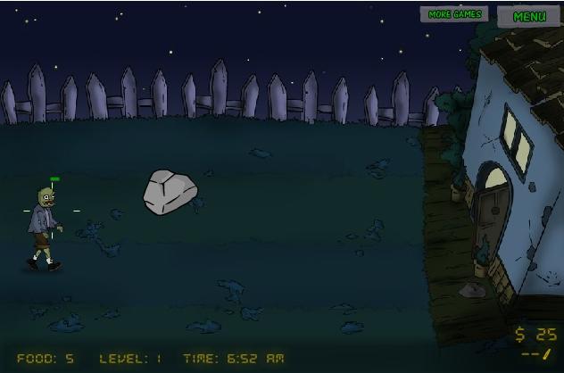 Игра Голодные Зомби онлайн