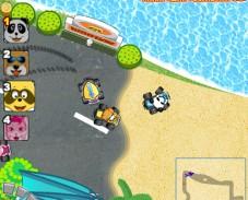 Игра Гонки енотов онлайн
