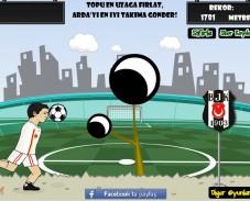 Игра Забей мяч онлайн