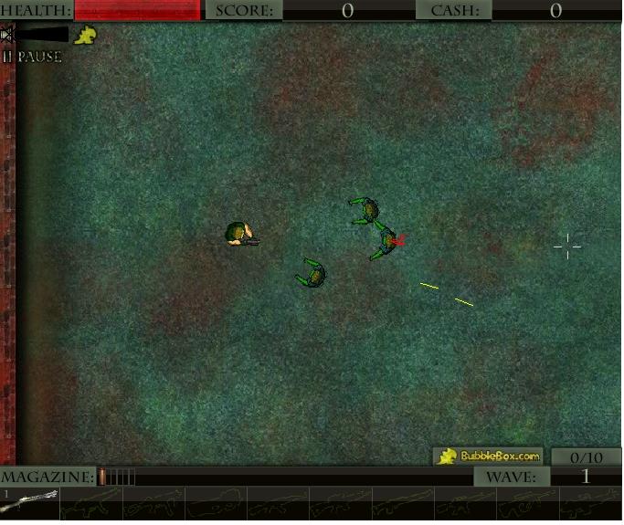Игра Зомби киллер онлайн