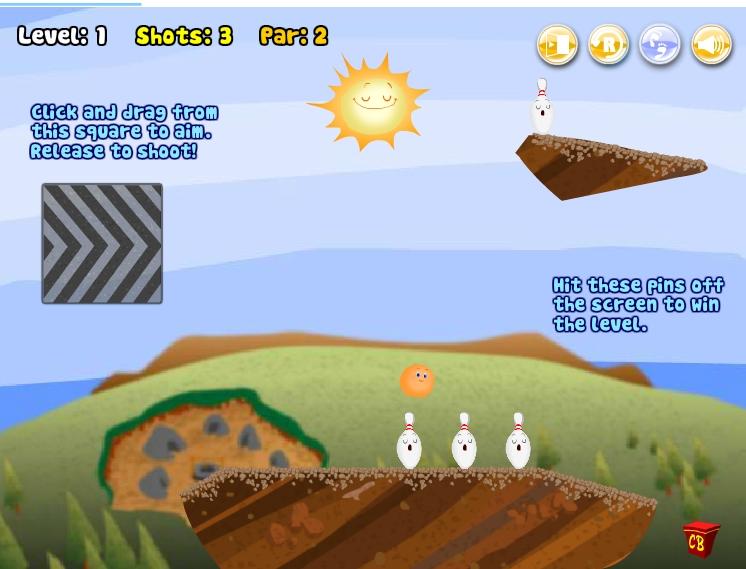 Игра Кегли онлайн