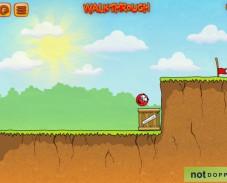 Игра Красный мяч 3 онлайн