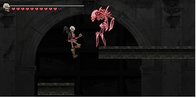 Игра Кровавый скелет онлайн