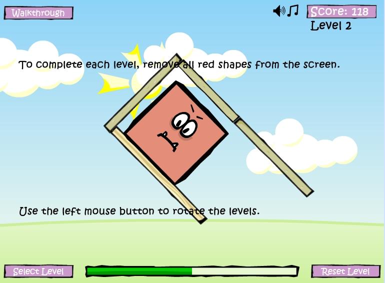 Игра Круги и квадраты онлайн