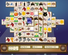 Игра Маджонг с животными онлайн