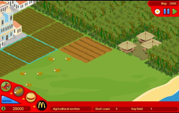 Игра МакДональдс онлайн