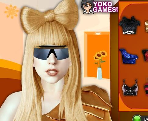 Игра Макияж Леди Гага онлайн