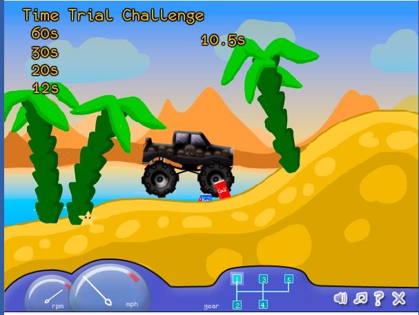 Игра Машина-монстр онлайн