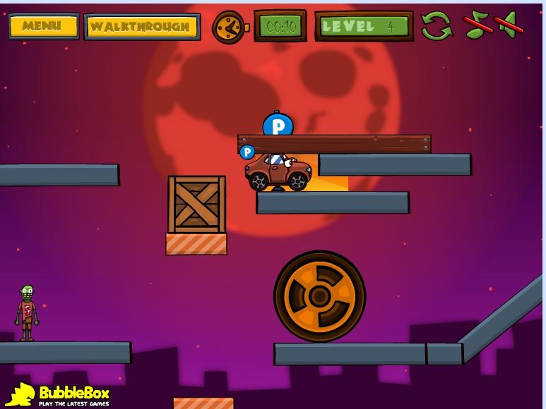 Игра Машины против зомби онлайн