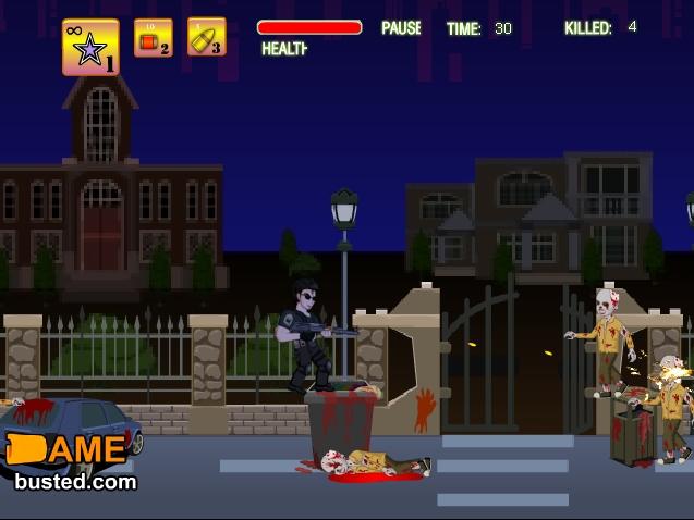 Игра Месть зомби онлайн