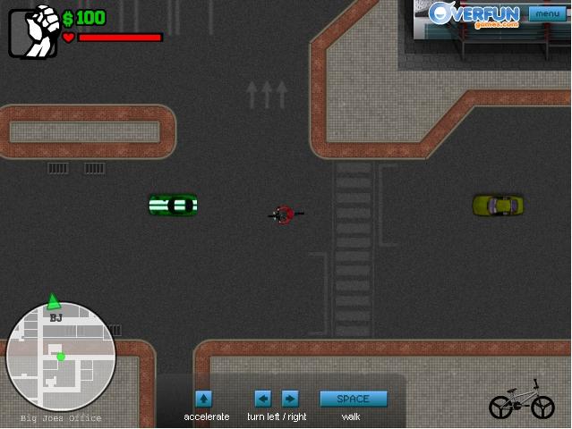 Игра Молодой гангстер онлайн