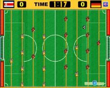 Игра Настольный Футбол онлайн