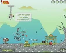 Игра Ниндзя Пушка онлайн