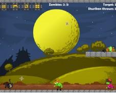 Игра Ниндзя против зомби онлайн